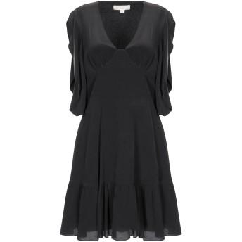 《セール開催中》MICHAEL MICHAEL KORS レディース ミニワンピース&ドレス ブラック XS シルク 100%