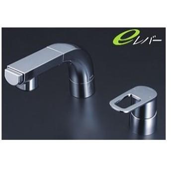 KVK 洗面化粧室【FSL120DET】シングルレバー式洗髪シャワー