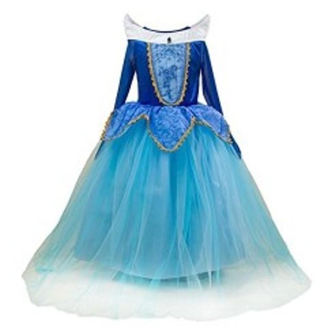 757354ab08801 オーロラ姫 ドレス 子供 眠れる森の美女 衣装 プリンセス ピンクドレス ハロウィーン 仮装 コスプレ (