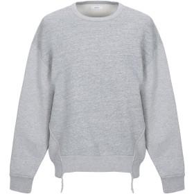 《期間限定 セール開催中》MAURO GRIFONI メンズ スウェットシャツ グレー L コットン 100%