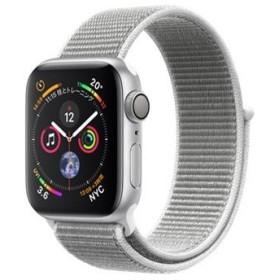 Apple Watch Series 4 GPSモデル 40mm MU652J/A [シーシェルスポーツループ]