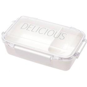 ふんわり盛れる弁当箱 1段 ホワイト 容量500ml ホームコーディ 1段 容量500ml