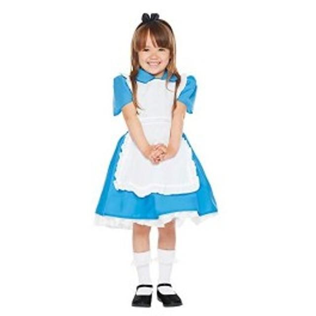 ディズニー ふしぎの国のアリス アリス キッズコスチューム 女の子 80cm-100cm