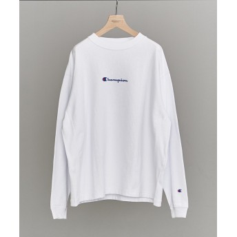 CHAMPION BEAUTY&YOUTH UNITED ARROWS 別注 REVERSE WEAVE LONG SLEEVE TEE