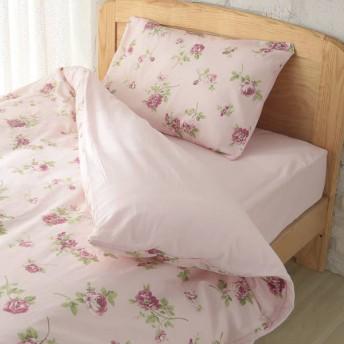 HOME COORDY カバー3点セット ベッド用 セミダブル ボタニカルピンク ホームコーディ ボタニカルPI セミダブルサイズ 布団カバーセット