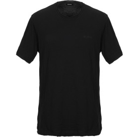 《セール開催中》DIESEL メンズ T シャツ ブラック S コットン 100%