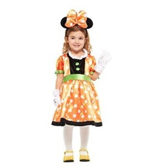 ディズニー パンプキンミニー キッズコスチューム 女の子 対応身長100cm-120cm