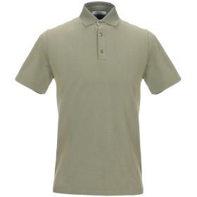 《期間限定セール開催中!》ALPHA STUDIO メンズ ポロシャツ ミリタリーグリーン 56 コットン 100%