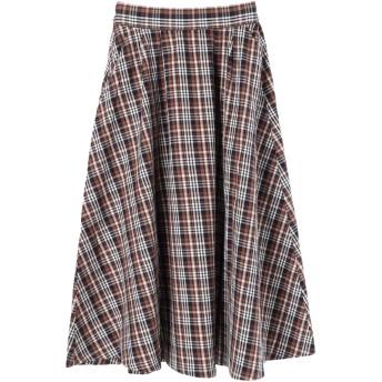 CRAFT STANDARD BOUTIQUE 綿ツイルタックロングスカート