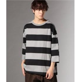 [マルイ]【セール】メンズTシャツ(WIDE SILHOUETTE-BIG BORDER)/J.S.ホームステッド(J.S.Homestead)