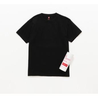 SALE【ラブレス(LOVELESS)】 【Hanes】MEN 別注 PREMIUM JAPAN FIT クルーネックTシャツ ブラック