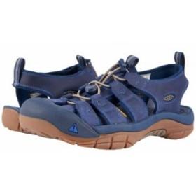Keen キーン メンズ 男性用 シューズ 靴 サンダル Newport Yankee Blue/Dress Blues【送料無料】