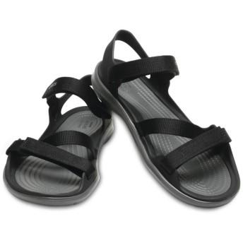 【クロックス公式】 スウィフトウォーター ウェビング サンダル ウィメン Women's Swiftwater Webbing Sandal ウィメンズ、レディース、女性用 ブラック/黒 21cm,22cm,23cm,24cm,25cm sandal サンダル