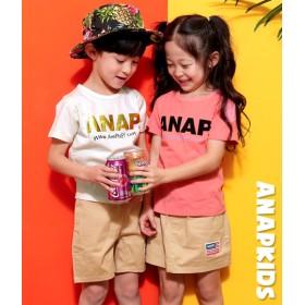 【セール開催中】ANAP KIDS(キッズ)手書きアドレスロゴTee