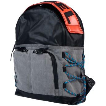 《セール開催中》DIESEL メンズ バックパック&ヒップバッグ ブラック 紡績繊維