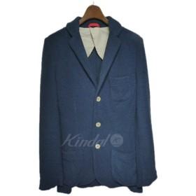 McRitchie ニットテーラードジャケット ネイビー サイズ:46 (栄店) 190305