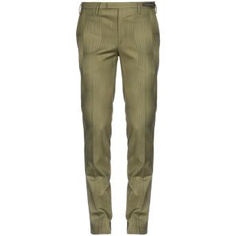 《9/20まで! 限定セール開催中》PT01 GHOST PROJECT メンズ パンツ グリーン 48 コットン 98% / ポリウレタン 2%