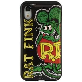 ラットフィンク IIII fit iPhoneXR対応ケース グリーン