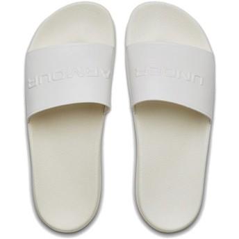 アンダーアーマー(UNDER ARMOUR) メンズ レディース サンダル コアリミックス ホワイト 3021282 101 スポーツサンダル トレーニング シューズ 靴 UA