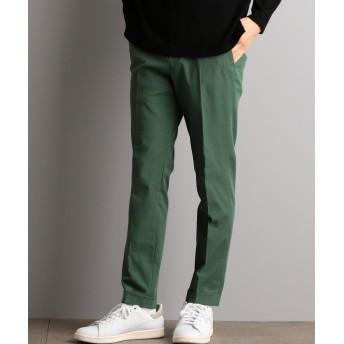 【50%OFF】 グリーンレーベルリラクシング CM ポリエステルツイル Wヘムナロー パンツ メンズ KELLY S 【green label relaxing】 【セール開催中】