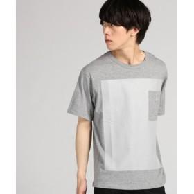 Lee 【WEB限定】ルーズフィットポケットTシャツ メンズ グレー