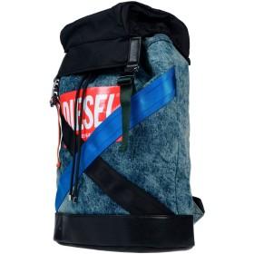 《期間限定セール開催中!》DIESEL メンズ バックパック&ヒップバッグ ブルー 紡績繊維