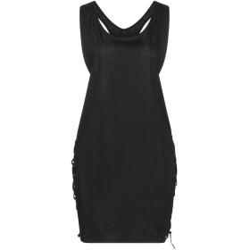 《期間限定 セール開催中》DIESEL レディース ミニワンピース&ドレス ブラック XS コットン 100% / ポリエステル