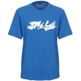 《9/20まで! 限定セール開催中》DIESEL メンズ T シャツ ブルー S コットン 100%