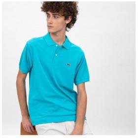 ラコステ 『L.12.12』定番半袖ポロシャツ メンズ ブルーグリーン 4(日本サイズL) 【LACOSTE】