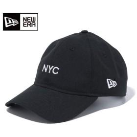 ニューエラ NEW ERA キャップ 帽子 メンズ レディース 9THIRTY クロスストラップ NYC ブラック × ホワイト 11899279