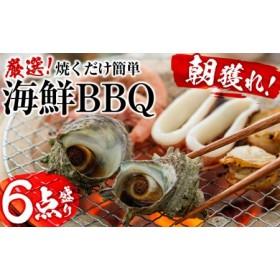 【焼くだけ簡単】光子社長厳選 海鮮BBQ 6点盛