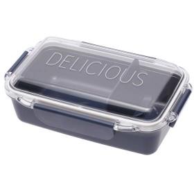 ふんわり盛れる弁当箱 1段 ネイビー 容量500ml ホームコーディ 1段 容量500ml