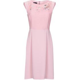 《期間限定セール開催中!》BLUE LES COPAINS レディース ミニワンピース&ドレス ピンク 40 ポリエステル 100%