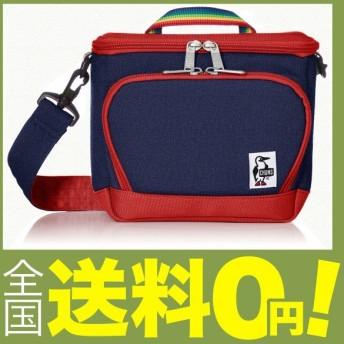 (チャムス) カメラバッグ Box Camera Bag Sweat Nylon H・Navy/Tomato