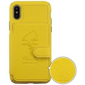ポケットモンスター iPhoneXs/X対応カードフラップケース ピカチュウ