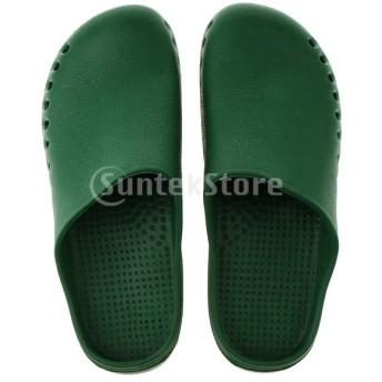 男女兼用の滑り止めのシェフの医者の詰まり防止オイルの防水仕事の軽量の靴