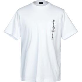 《期間限定セール開催中!》DIESEL メンズ T シャツ ホワイト S コットン 100%