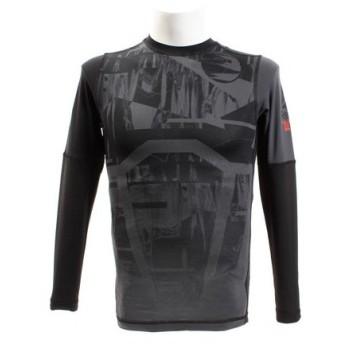 リーボック(REEBOK) ワンシリーズ LT Comp グラフィック ロングスリーブTシャツ FLG57-DP6563 (Men's)