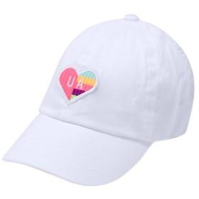 アンダーアーマー(UNDER ARMOUR) ジュニア ガールズパッチアーマーキャップ ホワイト 1328568 100 UA 帽子 キャップ スポーツ アクセサリー キッズ 女の子