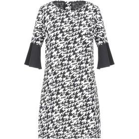 《セール開催中》FRACOMINA レディース ミニワンピース&ドレス ブラック XS ポリエステル 98% / ポリウレタン 2%