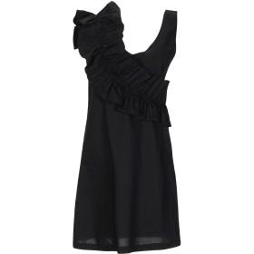 《セール開催中》TWENTY EASY by KAOS レディース ミニワンピース&ドレス ブラック 40 コットン 97% / ポリウレタン 3%