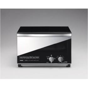 ツインバード ミラーガラスオーブントースター (B)ブラック TS-D047B [TSD047B]