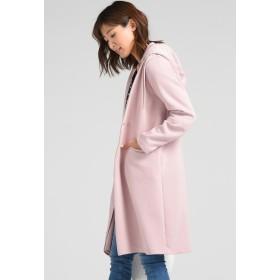 MAYSON GREY 【socolla】ボンディングジャージフードメッシュ取り外しコート ダッフルコート,ピンク