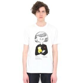 【グラニフ:トップス】グラニフ Tシャツ メンズ レディース 半袖 ガールウィズドール