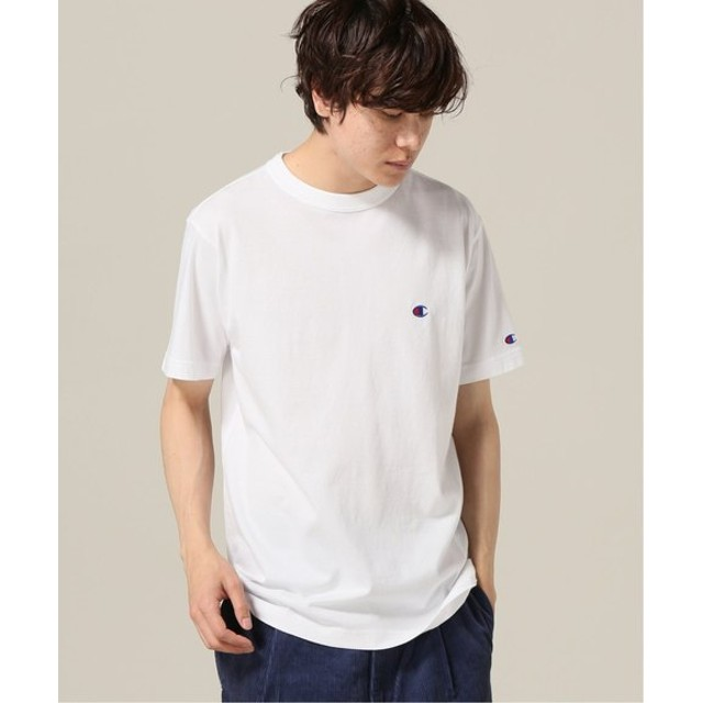 B.C STOCK Champion t-shirts basic solid ホワイト M