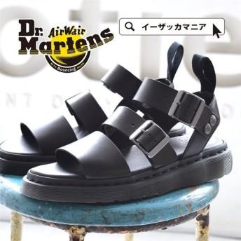 サンダル ドクターマーチン レザー ベルトサンダル レディース シューズ 靴 マーチン 15695001 本革 ブランド サイズ調整 おおきいサイズ