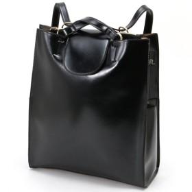 バッグ カバン 鞄 レディース リュック 2WAYリュック/セオルー カラー 「ブラック(ツヤ)」