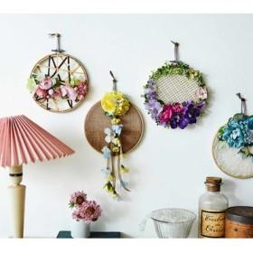 【クチュリエクラブ会員限定】壁一面に花の彩りを 癒やしの空間 フラワーフレームの会 フェリシモ FELISSIMO【送料:450円+税】