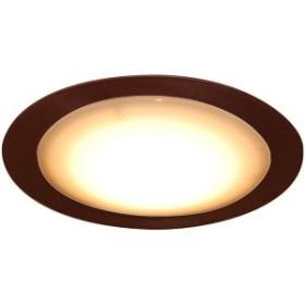 スワン電器 CE-1005-BR ブラウン Slimac [LED小型シーリングライト (昼白色・6W)]
