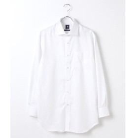 CRICKET / クリケット 「Cricket」クリケットオリジナル 綿100%イージーケア加工 サテンツイル ワイドカラーシャツ